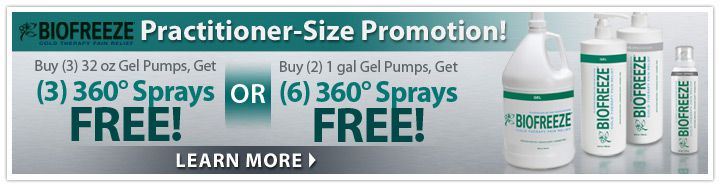 Biofreeze Practitioner-Size Promotion