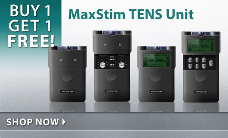 Buy 1, Get 1 Free MaxStim TENS Units