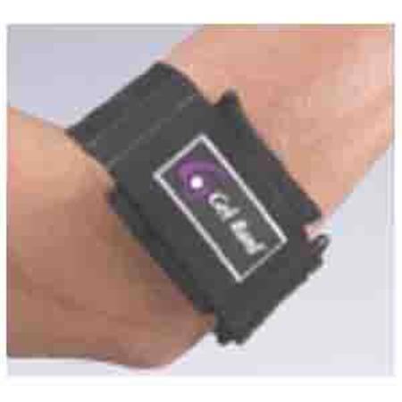 "Gel Band Armband Universal Black 11""-16"""