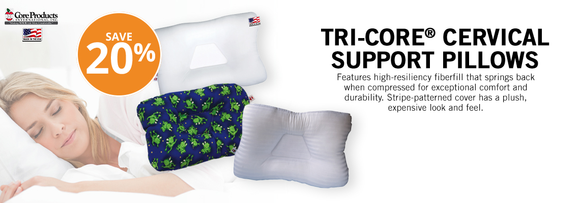 TriCore Pillows