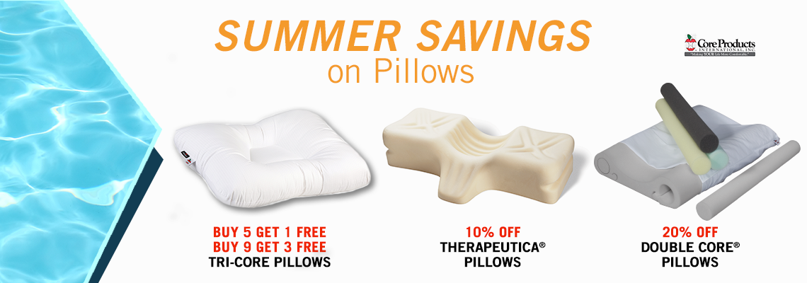 Core Pillows Summer Savings