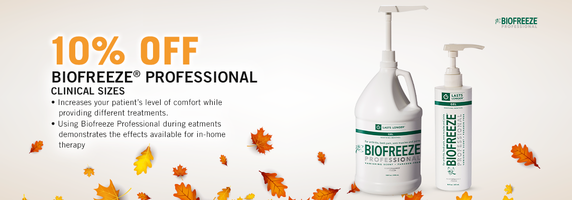 Biofreeze Professional Clinical Sizes