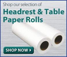 Headrest and Table Paper Rolls