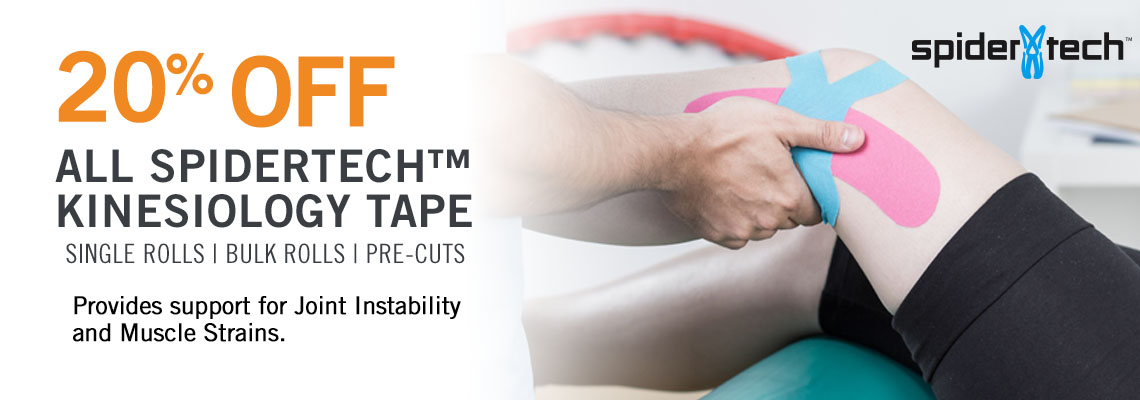 SPIDERTECH KINESIOLOGY TAPE