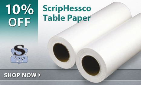 10% Off ScripHessco Table Paper