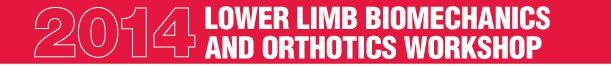 2014 Orthotics Workshop
