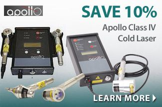 Save 10% on Apollo Class IV Cold Laser