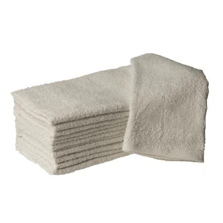 "Hand Towel 16X27"" White 12 Pack"