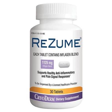 Rezume Pain Reliever-30 Ct.