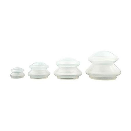 White Silicone Cupping Set