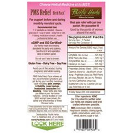 Pacific Herb PMS Relief Herb Packs