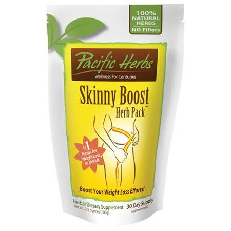 170 0165: Pacific Herb Skinny Boost Herb Pack - 100G