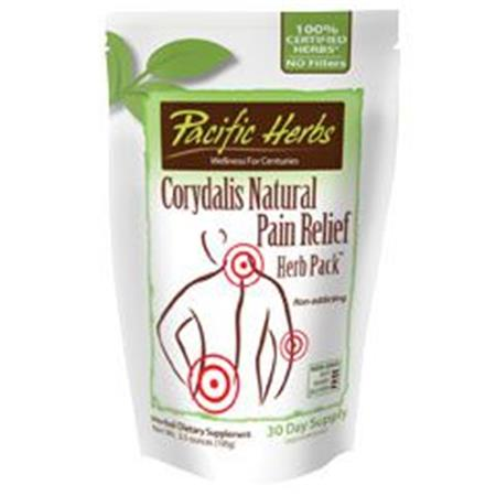 Pacific Herb Cordydalis Natural Pain Relief - 100g