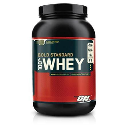 100% Whey Gold- Chocolate Mint 2Lbs