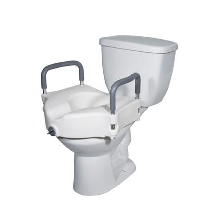 Elevating Toilet Seat With Removable Arms