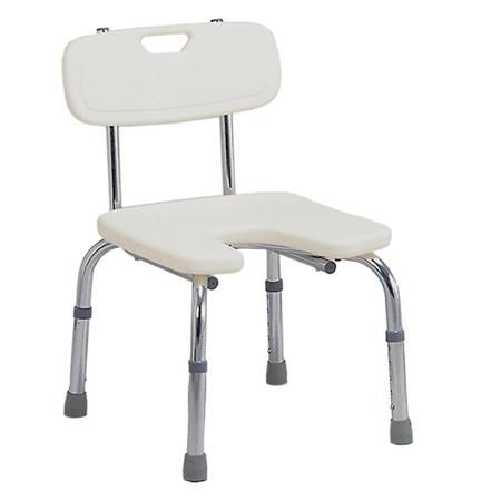 Mabis/Dmi Hygienic Bath Seat With Backre