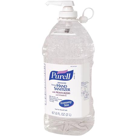 Purell Hand Sanitizer Advanced Formula With Vitamin E