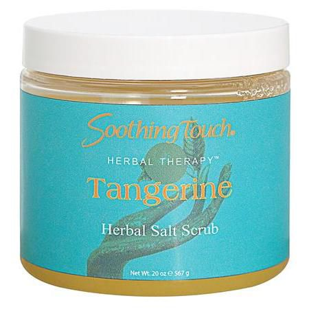 Soothing Touch Salt Scrub Tangerine 20oz