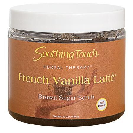 S.T. French Vanilla Latte Sugar Scrub 16oz