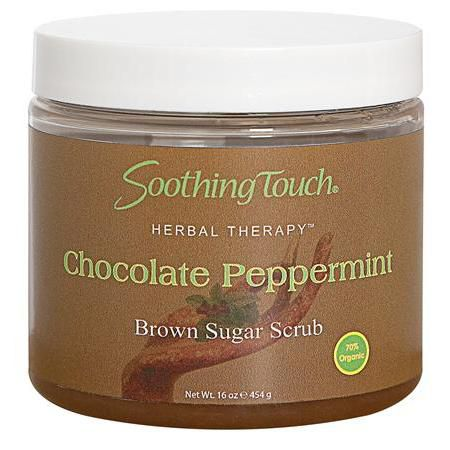 Soothing Touch Brown Sugar Scrub Choc Peppermint 16oz