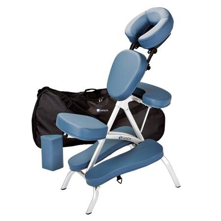 Earthlite vortex portable massage chair package carry case - Portable reflexology chair ...