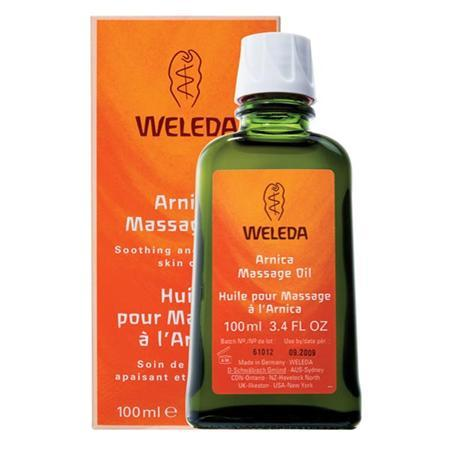 Weleda Arnica Massage Oil 3.4 Oz