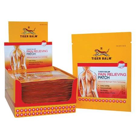 Tiger Balm Patch, Single Size, 36 Cnt W/Display