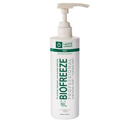 Biofreeze Pro Gel - 16 Oz Gel Pump Green