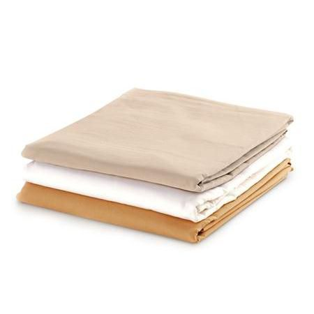 NRG Cotton Poly Flat Sheet, Each