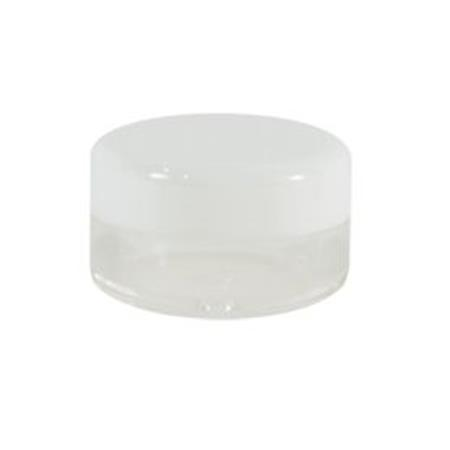 Small 1/8 Oz.Jar W/Thread Lid, 100Ct