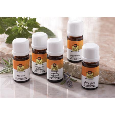 Lotus Touch Single Note Essential Oil Trial Kit
