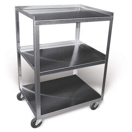 Stainless Steel Rolling Cart Model Mc321 - 3 Shelf