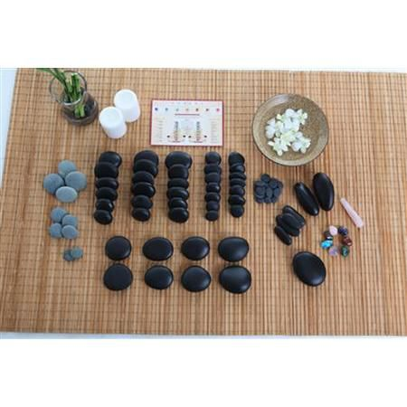 Stone Massage 82 Piece Set With DVD