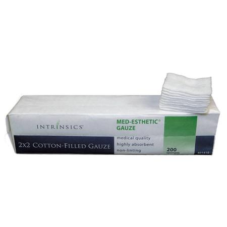 Intrinsics 2 X 2 Cotton-Filled Gauze, Single Pack