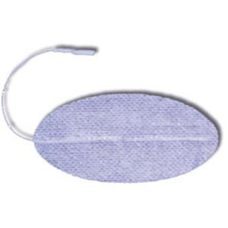 "1.5"" x 2.5"" Oval ValuTrode® Cloth Electrodes"
