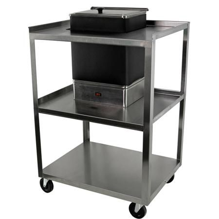 Ideal Service Center Utility Cart For E1 Hydrocollator Unit