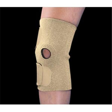 Fits-All Neoprene Open Patella Knee Support, Regular