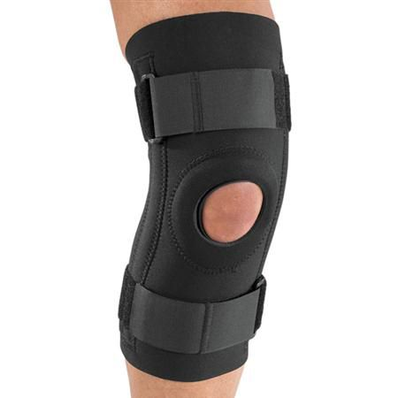 DJO Stabilized Knee Support With Open Popliteal
