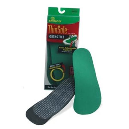Spenco ThinSole Orthotics, 3/4 length