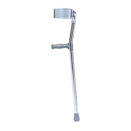 "Drive Steel Forearm Crutches, Adult 5'0""- 6'2"""