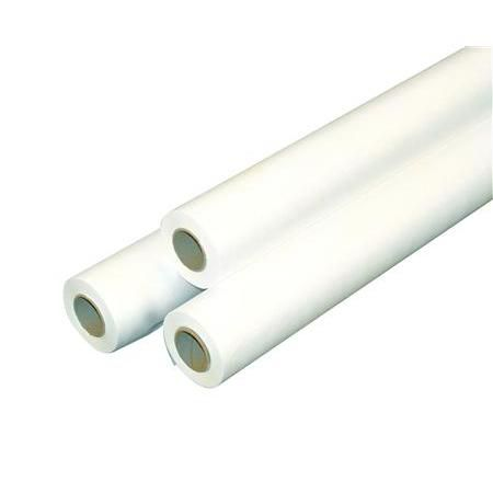 "Crepe Exam Table Paper 18""Wx125'l, 12 Rolls, White"
