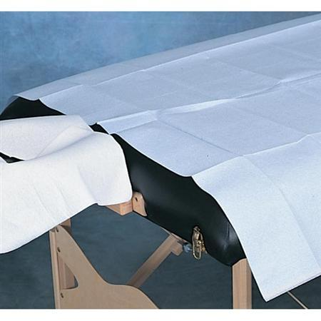 Drape Sheet Poly Backed 40X90 Sheet 50 Count Blue