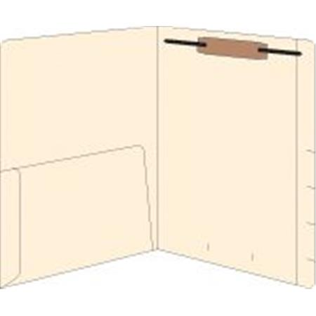 Righ Hand Single Pocket Folder 50/Box