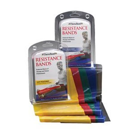 Thera-Band Professional Resistance Bands Kit, Light (Beginner)