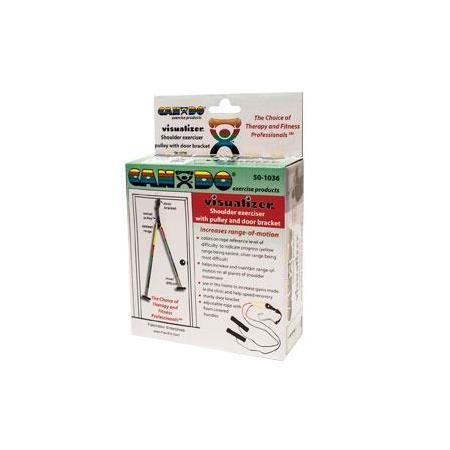 Cando visualizer shoulder pulley w door bracket for Door visualizer