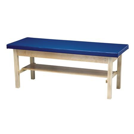 H-Frame Treatment Table With Shelf