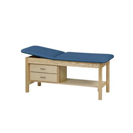 Straight Line Treatment Table With Cabinet And Drawer 30""