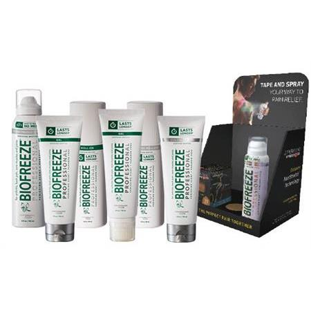 Biofreeze Pro - Buy 38 Roll-Ons Get 10 Free + Kit