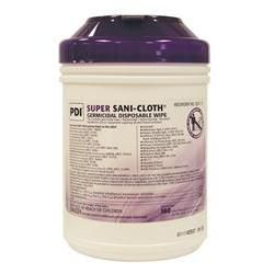 Super Sani-Cloth Germicidal Disposable Wipes - Large Tub 160 Wipes