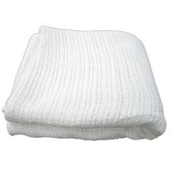 Thermal 100% Cotton Blanket White 66' X 96'